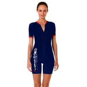 7495727fd0 Women Boy Short Swimwear One Piece Swimsuit Modest